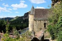 Le village de La Roque-Gageac en Dordogne