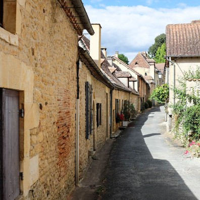 Une cité médiévale située en Dordogne