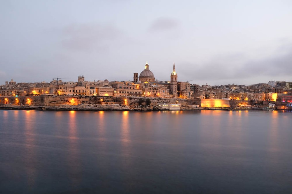 Malta skyline