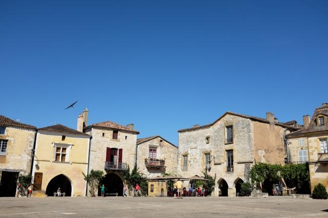 Monpazier bastide