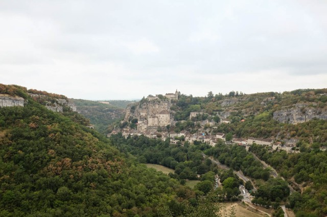 Rocamadour rocher