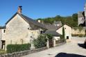 Quelques maisons du village de Saint-Amand-de-Coly en Dordogne