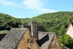 Les toits de Saint-Amand-de-Coly en Dordogne
