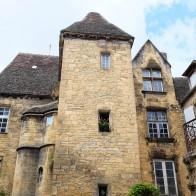 L'architecture des maisons de Sarlat dans le Périgord Noir
