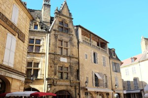 La célèbre maison de La Boétie de Sarlat