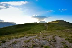 Paysage montagnard dans le Haut-Verdon