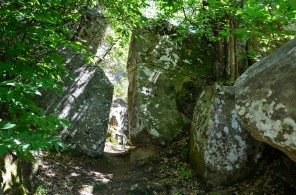 Les grès d'Annot dans les Alpes de Haute Provence