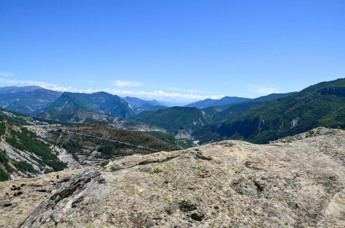 Annot mountain