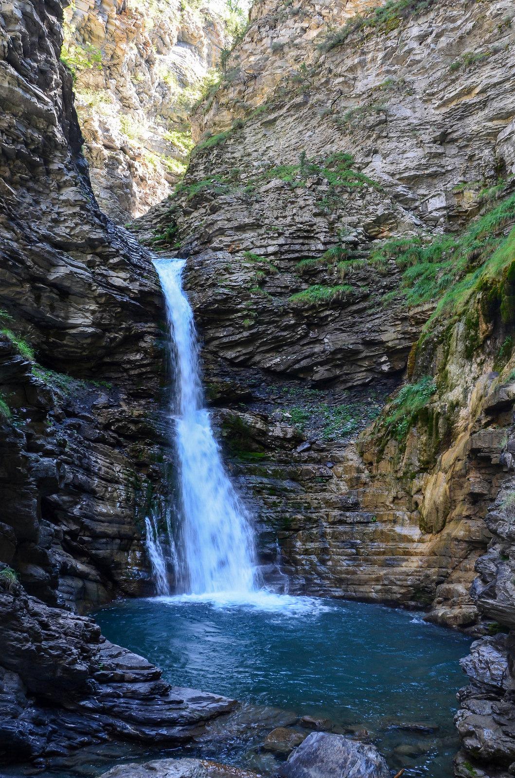 cascade lance Colmars