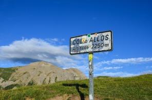 Le col d'Allos dans le Haut-Verdon