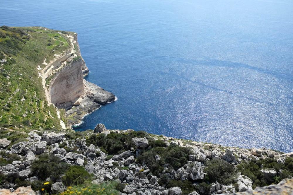 Falaises Dingli Malte
