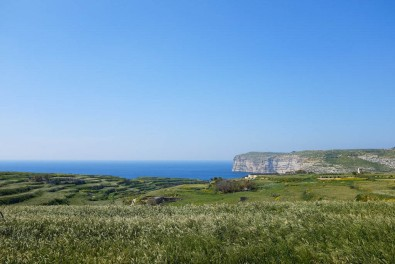 Gozo est une île plus nature et sauvage que Malte