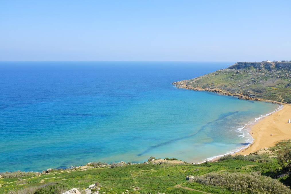 Gozo Ramla beach