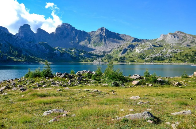 Haut verdon lac Allos