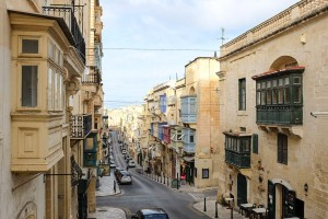 Les rues rectilignes de La Valette