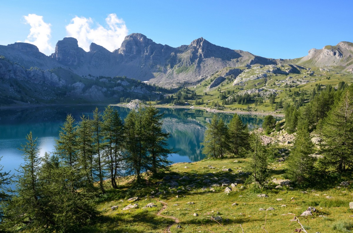 Lac Allos Mercantour