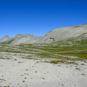 Les paysages lunaires du Haut-Verdon dans le Mercantour