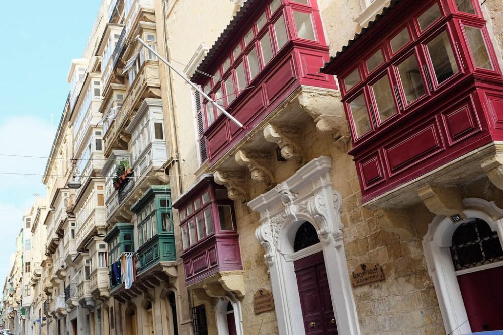 Les balcons de Malte