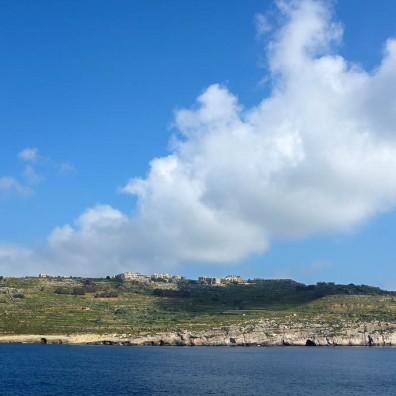la petite île de Comino entre Malte et Gozo