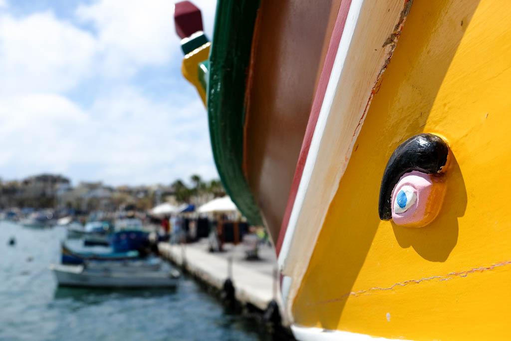 Malta luzzu eye