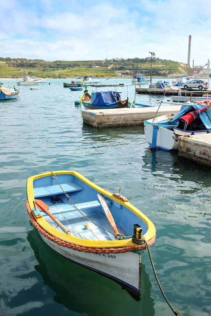 Malta Marsaxlokk boat