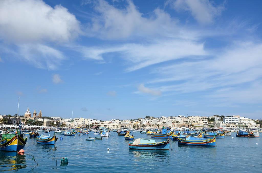 Malta Marsaxlokk Luzzu