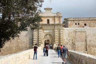 L'enceinte fortifiée de Mdina