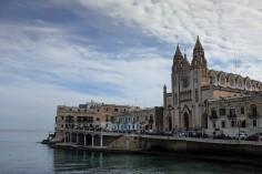 L'église de St Julian's à Malte