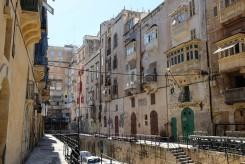 Des immeubles du centre de La Valette