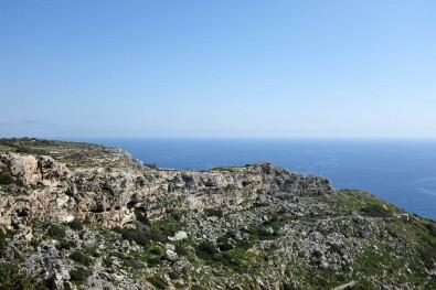 Les paysages rocailleux de Malte