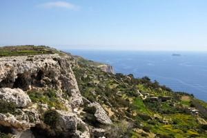 Les falaises de Dingli offrent des paysages magnifiques