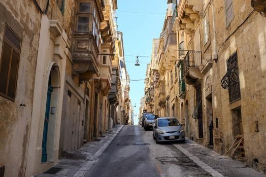 Une rue de La Valette