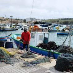 Marsaxlokk le village de pêcheurs