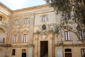 Un palais situé dans le centre historique de Mdina