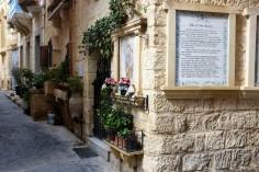 Le centre historique de la ville de Rabat à Malte