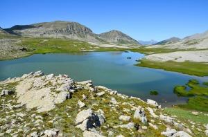 Les lacs de Lignin dans le Mercantour
