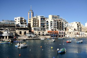 Spinola Bay à St Julian's