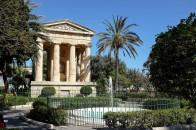 Un temple dans les Lowers Barrakka Gardens