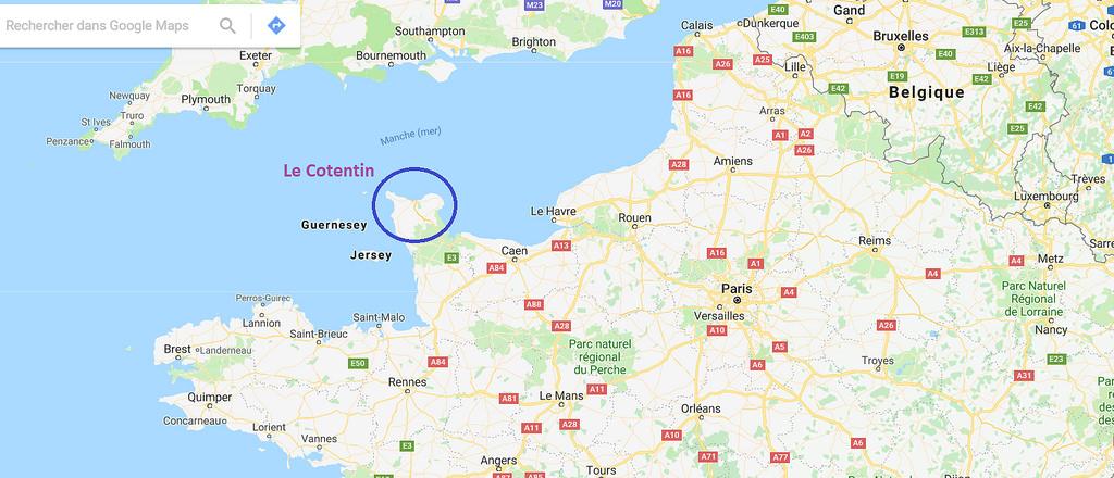 Cotentin carte