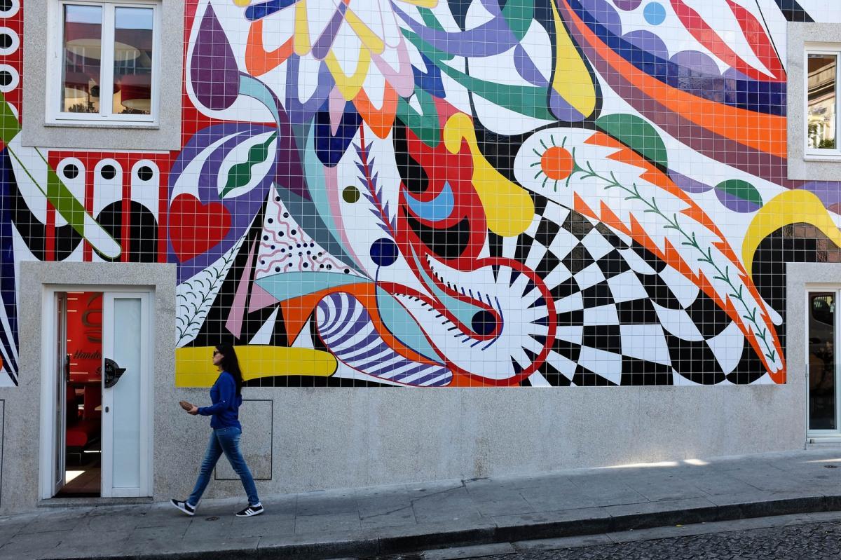 Porto capital street art