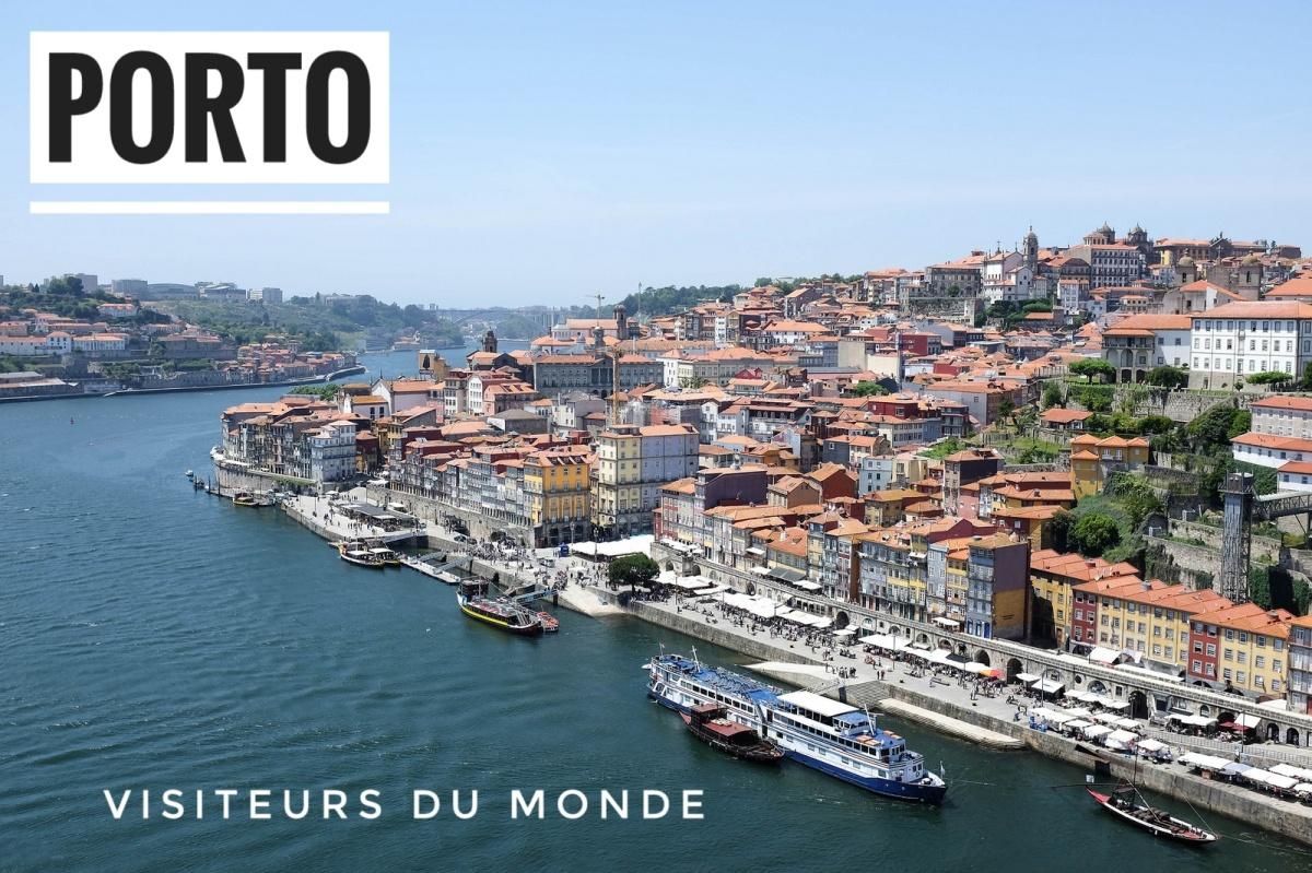 Porto cityscape skyline