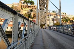 L'incroyable armature métallique du pont Louis 1er à Porto