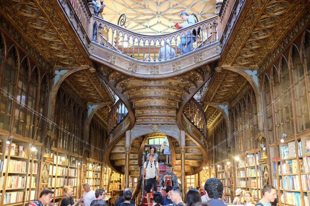 Porto livraria Lello