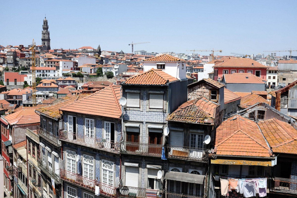 Porto panoramic view