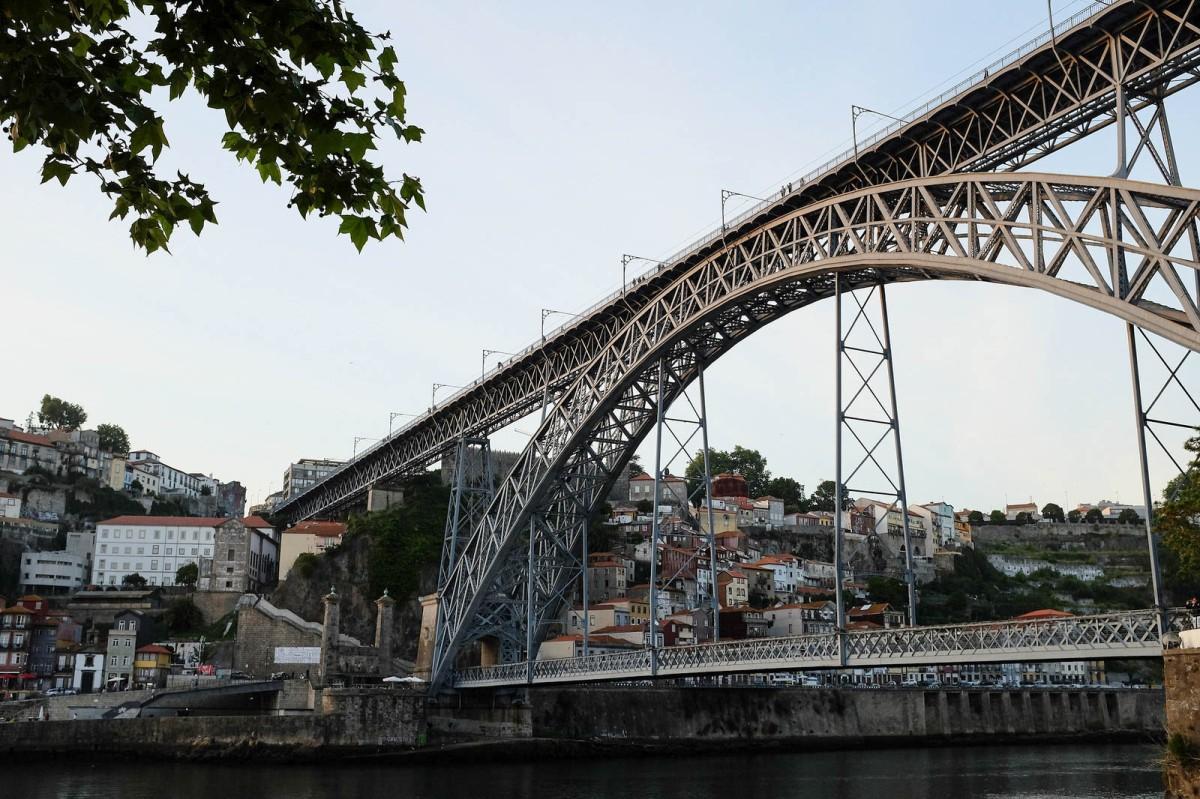 Porto Ponte Luis I Ribeira