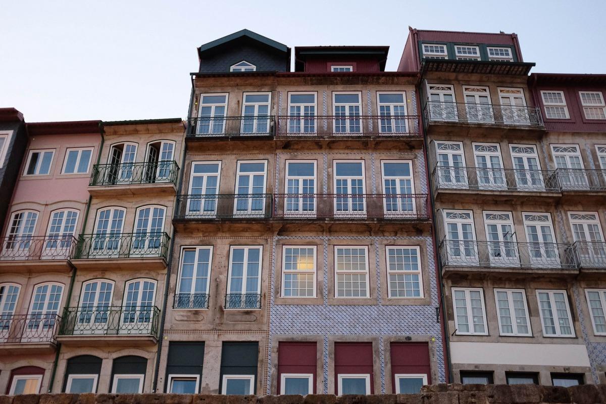 Porto Ribeira buildings