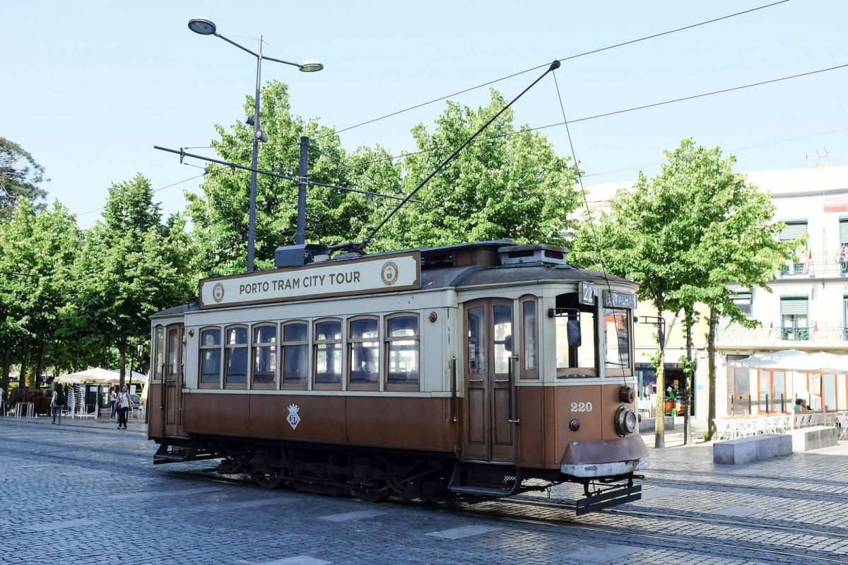 Porto vieux tramway