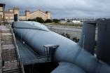 Le sous-marin Le Redoutable exposé à Cherbourg