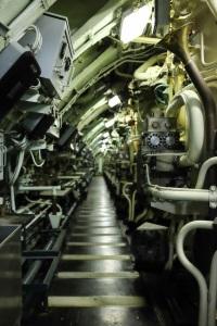 L'intérieur du sous-marin Le Redoutable, Cité de la Mer de Cherbourg