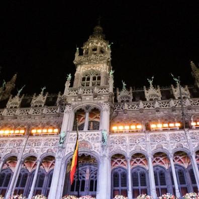 La Maison du Roi située sur la Grand'Place de Bruxelles